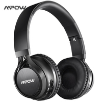 Mpow Thor Bluetooth Headphones Over Ear Foldable Wireless Stereo Headphone With Soft Protein Ear Pads Mic