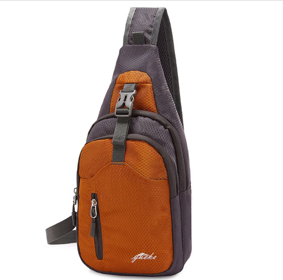 New Arrival Waterproof Single Shoulder Bag Travel Backpack Chest Package Small Bags Of Young Men And Women Bags new style women backpack unisex chest bags small canvas backpack for women and men travel bag pt989