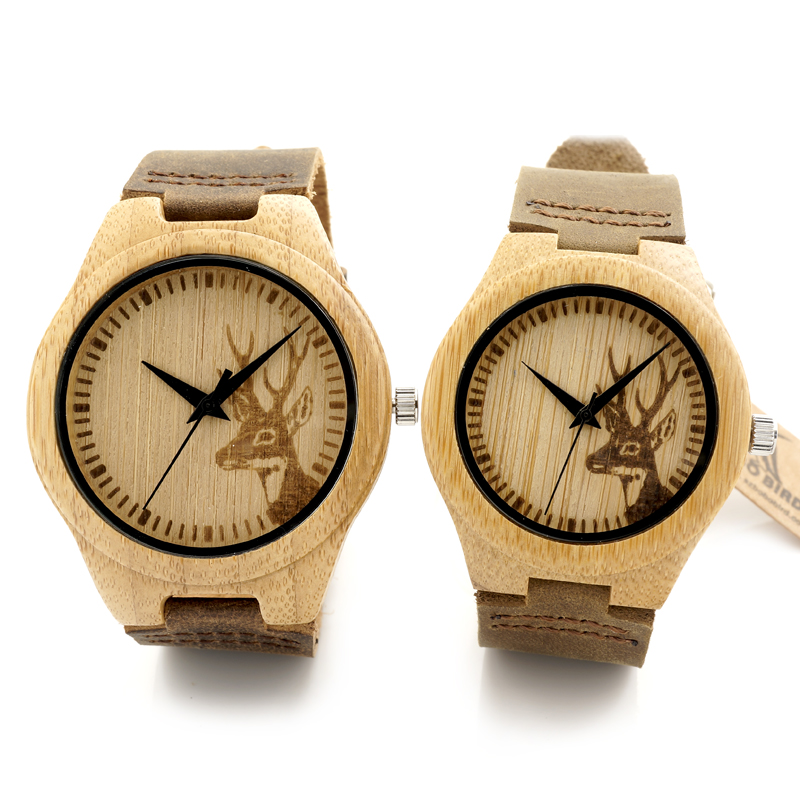 product with luxury watches relojes round design watch women bobobird products wooden brand and gold bobo bamboo bird womens grande wooddle marea image leather date vintage quartz s