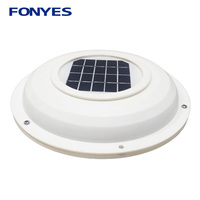 Solar vent fan air extractor ventilation fan exhaust ventilator for caravans car boat RV home green house