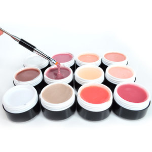 Image 3 - VENALISA Gel de construction rose épais pour ongles, gelée, trempage UV LED, couverture et Camouflage, 15ml, nouveauté