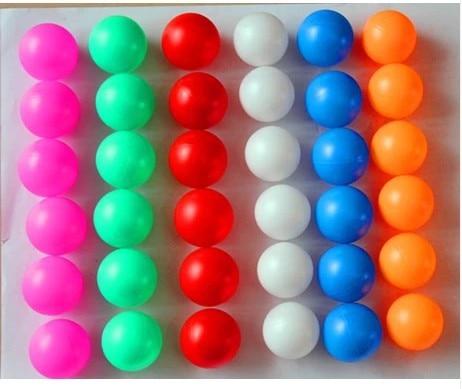 140pcs game ball raffle lottery ball Table Tennis PingPong ...