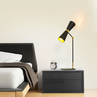 The industrial Table Lamps bedroom bedside lamp creative personality simple American retro living room hotel tabletopLU6281 ZL88