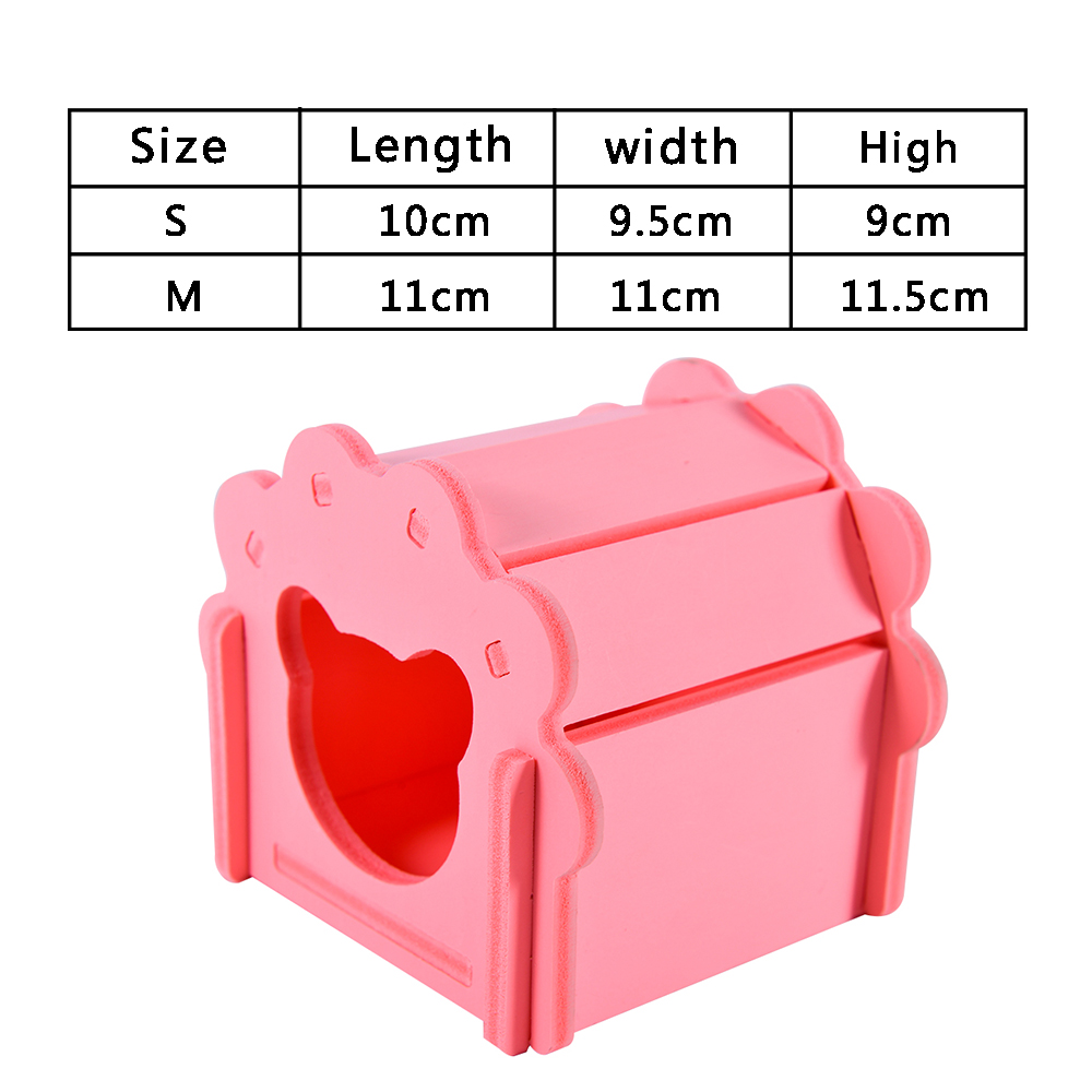 pet house for chinchillas cage for rats Guinea pig cavies carrier accessories for hamster hammock rat small animals supplies rabbit hutch cage hamster pink (10)