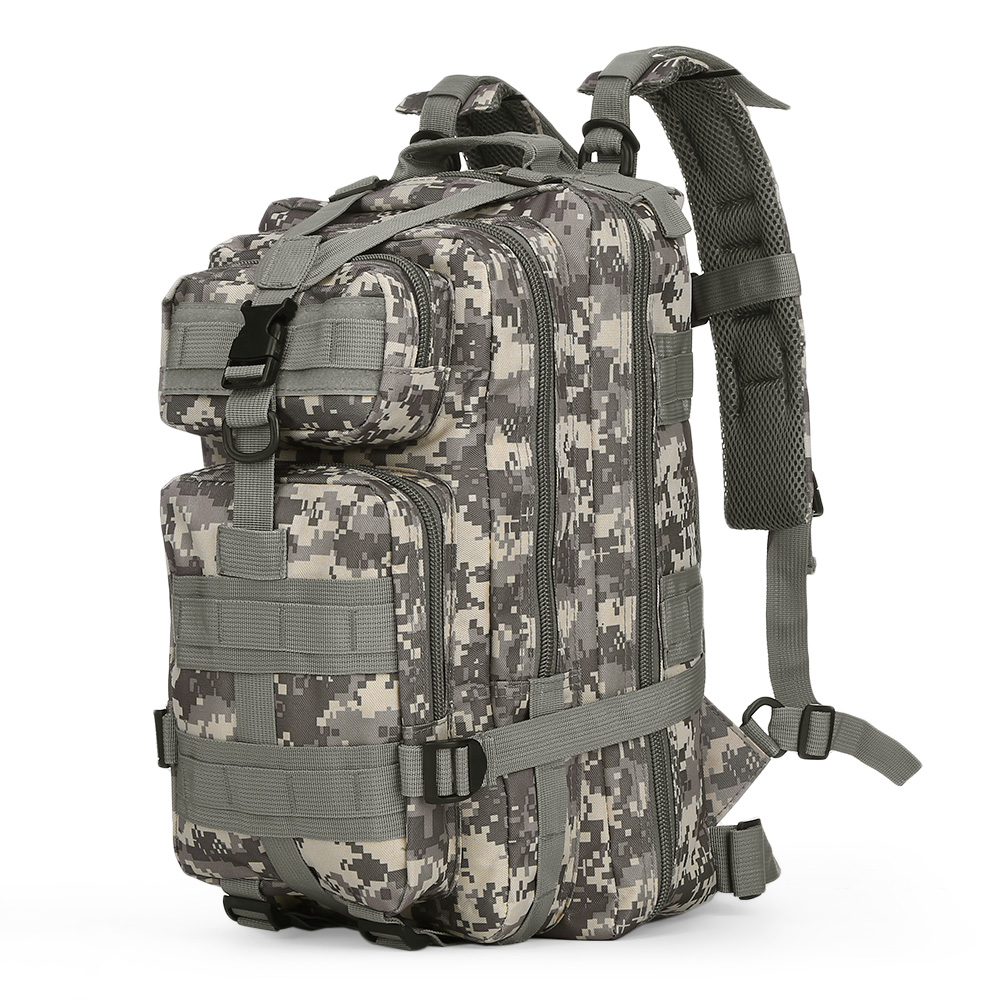 3P Outdoor Bag Tactical Military Backpack Oxford Sport Bag For Outdoor Camping Climbing Traveling Hiking Trekking 30L