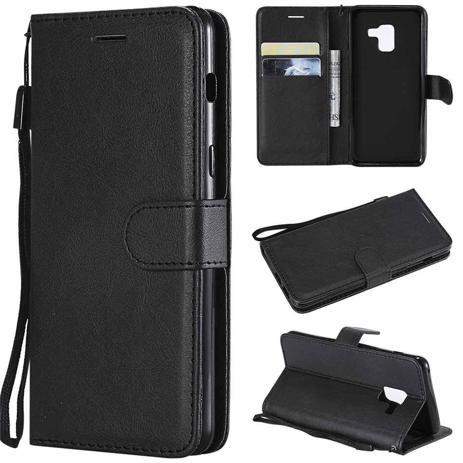 Luxury Flip PU Leather Wallet Phone Case Cover For Samsung Galaxy A90 A80 A70 A60 A50 A30 A20 A10 M10 M20 M30 A750 Stand Capa