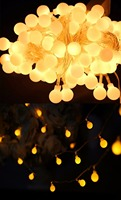 10pcs Lot Novelty Outdoor Lighting LED Ball String Lamps 10m 100leds 110v 220v Christmas Lights Fairy