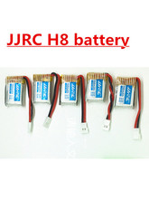 5Pcs JJRC H8 150mAh 3.7V li-po Battery for H8 Mini rc quadcopter helicopter RC Quadcopter Spare Parts