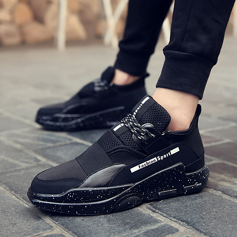 New high quality spring and summer classic fly line airmix full palm air cushion running shoes men shocked men sports shoes