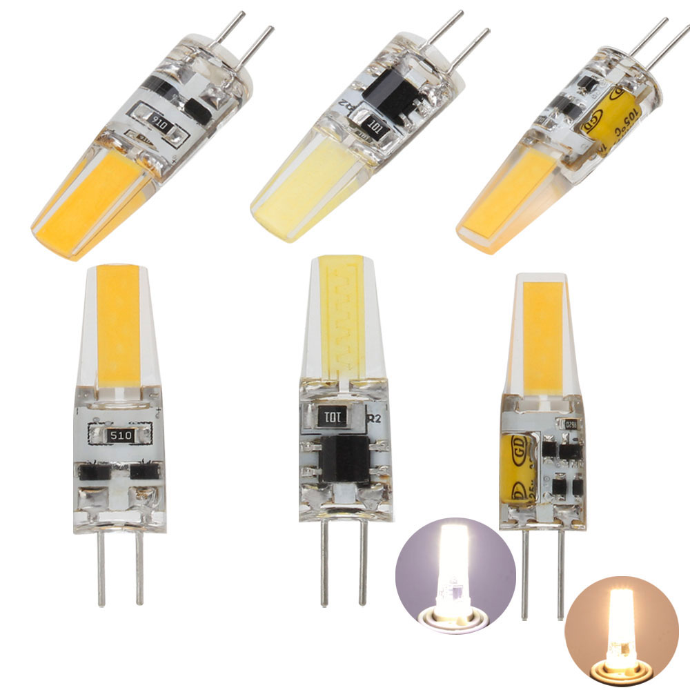 5Pcs/Lot COB G4 Bulb LED 7W LED Lamp Crystal LED Light Lampadine Lampara 220V AC/DC 12V Ampoule LED Bulbs Replace Halogen Lamps