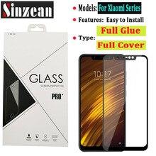100pcs For Xiaomi 11 lite/CC9/A2 lite/CC9E/Play/POCO X3 NFC/POCO M3 2.5D Full Glue Full cover tempered glass Screen Protector