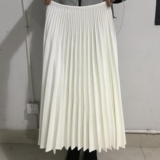 Women White Long Skirt