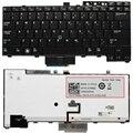Клавиатура US для Dell Latitude E6400, E6410, E5500, E5510, E6500, E6510, M2400, M4400, E4300, E5400, подсветка с отслеживанием