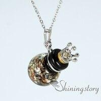 Diffuseur à billes colliers en gros vénitien en verre diffusant collier collier d'huile essentielle aromathérapie gros colliers