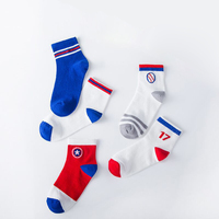 DAIVSXICAI 5 Pair=10PCS/lot Baby Socks Neonatal Children Cotton Socks Kids Boys Girls Fashion Socks Thicken 1 12 Year