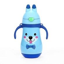 HADELI 320ml Children Thermos Water Bottle  Stainless Steel Mug DrinkWare Outdoor Kid Cute Pattern Hot Sale