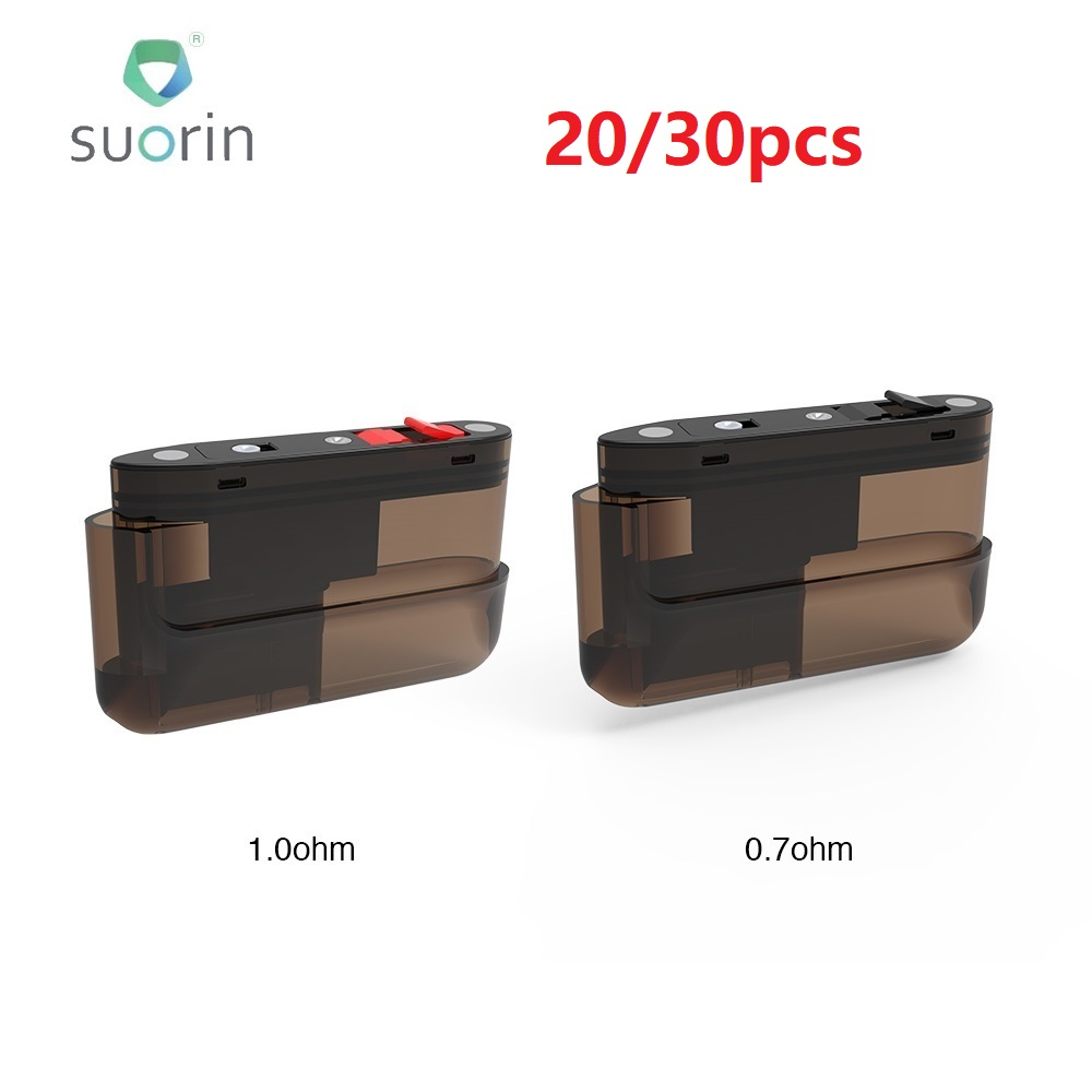 20/30pcs New <font><b>Suorin</b></font> <font><b>Air</b></font> <font><b>Plus</b></font> <font><b>Pod</b></font> Cartridge 3.5ml Capacity <font><b>Pod</b></font> System Vape for <font><b>Suorin</b></font> <font><b>Air</b></font> <font><b>Plus</b></font> <font><b>Pod</b></font> Kit vs <font><b>Suorin</b></font> <font><b>AIR</b></font>/ Drag Nano image