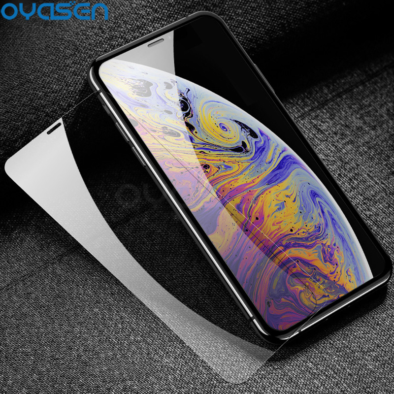 Explosion-proof Tempered Glass For IPhone X XR XS Max 8 7 6S 6 Plus 5S 5 SE 9H Tempered Glasss Protective Film For IPhone XS XR
