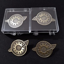 Janpanese Anime Steins Gate Makise Kurisu labmen Badges Pin Brooch Cosplay The Fate of Stone Door Props Accessories
