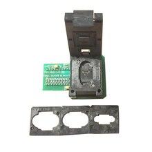 TNM BGA169 01,emmc nand flash BGA169 BGA153 adaptateur pour programmeur TNM5000 + limiteurs de carte 4 pièces, TNM5000 prend en charge tous les emmc par auto