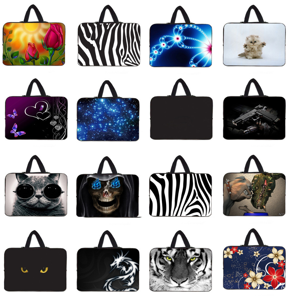 Bags For Notebook 15 inch 15.4 15.6 Computer Accessories Zipper Sleeve Bag Carry Cases For Dell XPS 15 Lenovo Samsung Laptop PC