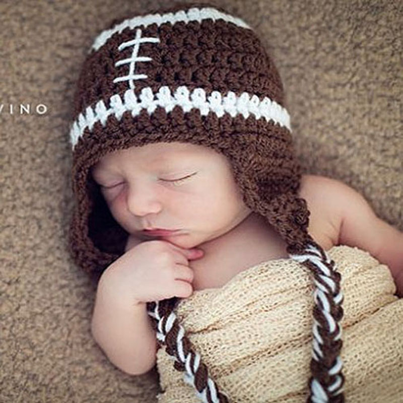 Photo Prop Football Hat for Baby or Toddler