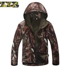 Lurker Shark Skin Soft Shell Military Tactical Jacket Men Waterproof Windproof Warm Camouflage Hooded Camo Army Clothing outdoor sports tad shark skin soft shell camo jacket or pants men hiking hunting clothes camouflage tactical military clothing