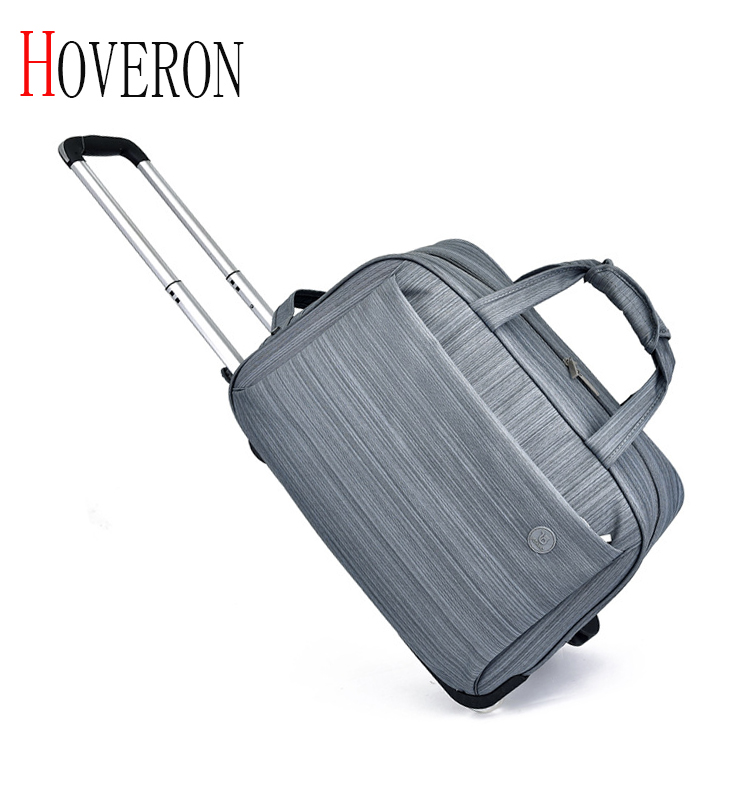 Women Waterproof High Capacity Travel Bag Thick Style Rolling Suitcase Trolley Luggage Lady Men Travel Bags Suitcase With Wheels