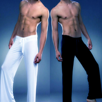 Hb Sexy Homewear Men Comfortable Male Tracksuits Brands White and Black Pajama Pants