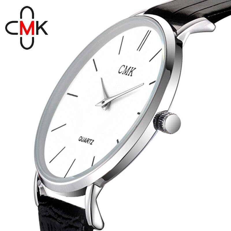 b3d117881fc Relógios de Quartzo de couro ocasional relógio masculino Modelo Número    Cmk020017