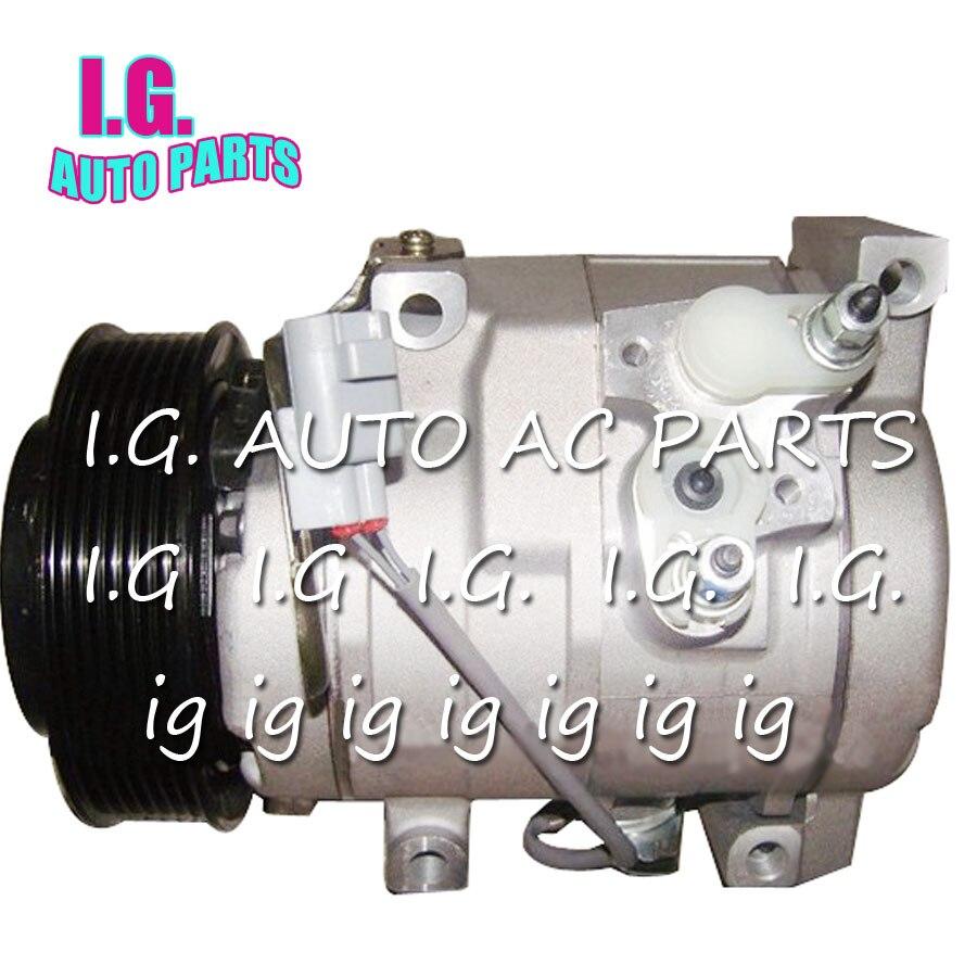 Nouveau compresseur automatique à ca 10S17C pour voiture Toyota Camry 2.4 Prado GRJ120 883206A001 pour compresseur à ca toyota prado