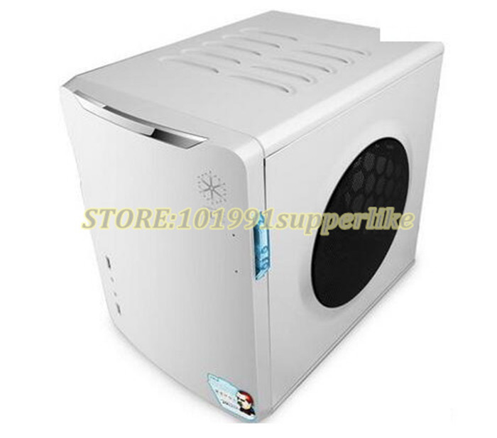 DEBROGLIE 1pcs itx case Desktop computer Mini Host Chassis ITX Desktop game small Case