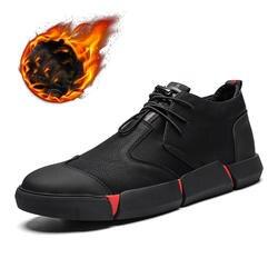 Macvise/мужская повседневная обувь высокого качества из натуральной кожи черного цвета, модная дышащая Дизайнерская обувь на плоской подошве