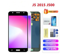 Adjustable LCD Galaxy J500 2017 For Samsung J5 2015 Display Touch Screen Digitizer J5  J500 J500F LCD Display new tested lcd for samsung galaxy j5 j500 j500f j5008 screen display with touch digitizer tools assembly 1 piece free shipping