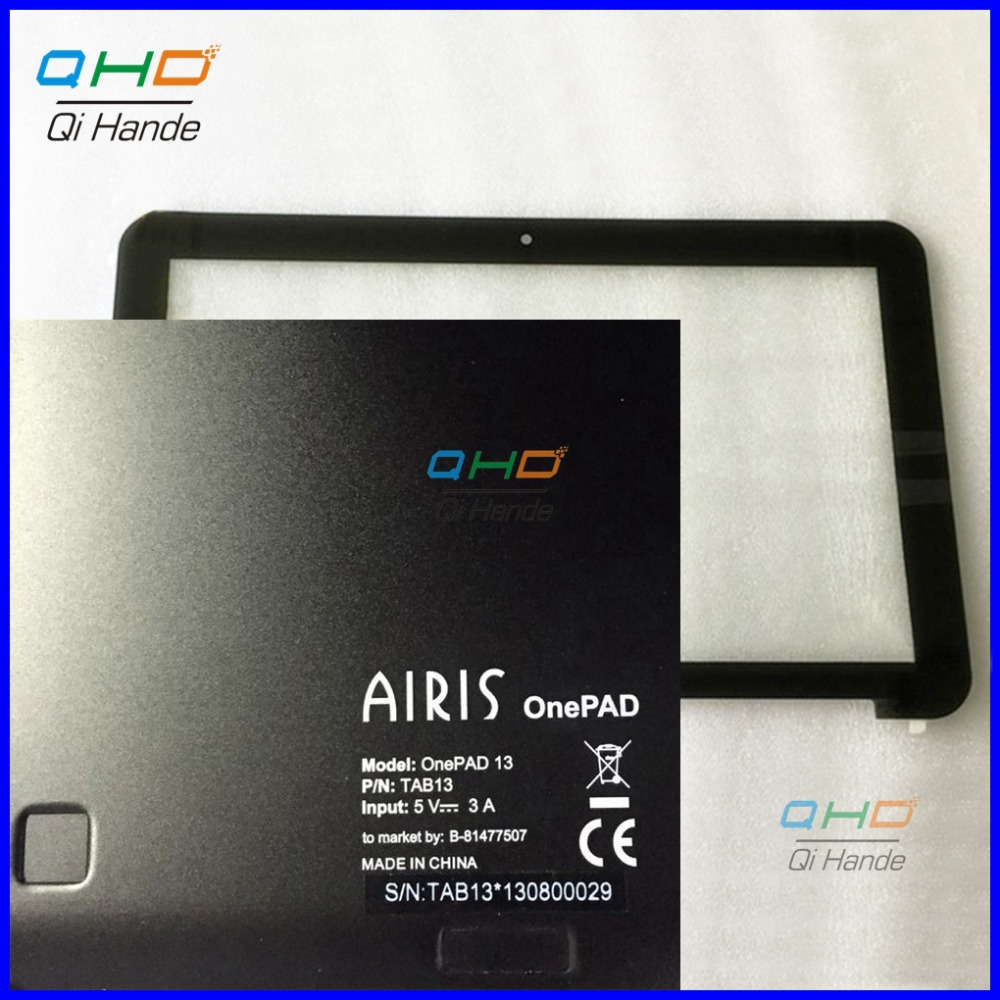 For AIRIS onePAD 13 TAB13 Black New Touch Screen Panel Glass Digitizer Sensor Repair Replacement Parts Free Shipping