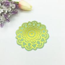 Julyarts 2019 Hot Foil Plate Circle Flower Metal Cutting Die For Scrapbooking Stencils Stamping Paper Card Cut Craft Dies