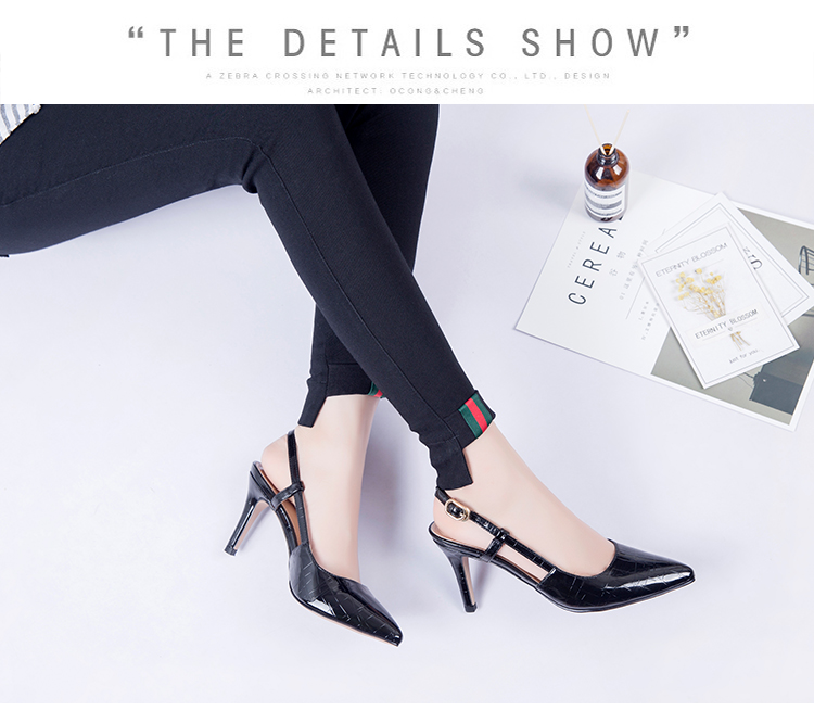 أحذية مع العالية الصنادل 29