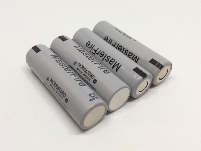MasterFire 6PCS LOT New Genuine 18650 NCR18650BD 3 7V 3200mAh 10A discharge battery electronic cigarette batteries For Panasonic in Rechargeable Batteries from Consumer Electronics