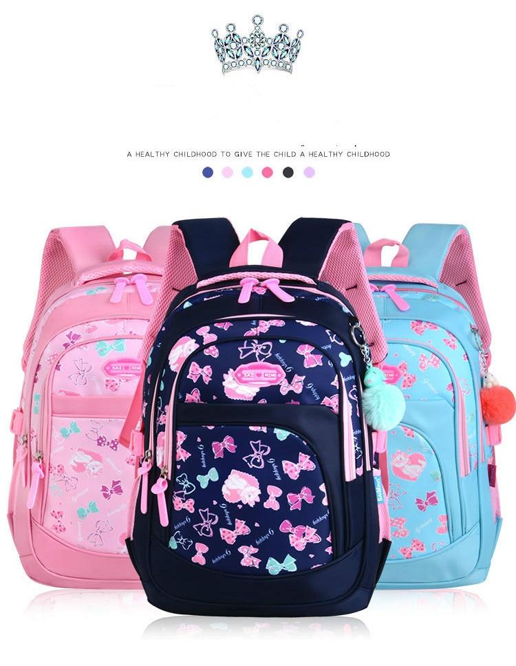 children school bags girls primary school backpacks kids cartoon cat ... bad96dcc7850a