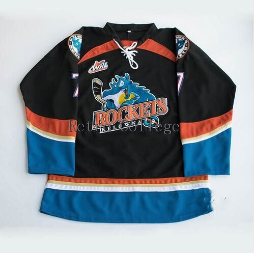 Kelowna Rockets #7 Lucas Johansen 10 Duncan Keith Mens Hockey Jersey Embroidery Stitched any number and name JerseysKelowna Rockets #7 Lucas Johansen 10 Duncan Keith Mens Hockey Jersey Embroidery Stitched any number and name Jerseys