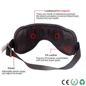 Image 3 - Elétrica dc vibração olho massageador máquina música magnética pressão de ar infravermelho aquecimento massagem óculos dispositivo cuidados com os olhos