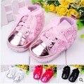 Детские обувь для девочек малыша обувь детская девочка цветок мягкой подошвой обувь впервые ходунки новорожденный