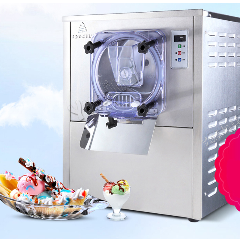 Commercial Ice Cream Machine 1400W Ice Cream Snowball Making Machine Fully Automatic Ice Cream Machine