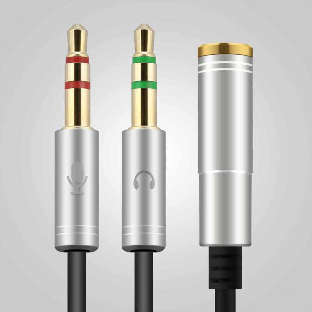 Новый высокое качество RCA кабель 2 RCA мужчин и женщин 3.5 мм адаптер aduio Aux кабель для Iphone для samsung для Huawei