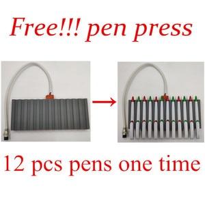 Image 2 - Double Display 9 In 1 Combo Heat Press Machine Sublimation Heat Press Heat Transfer Machine Cap T shirt Phone Case Mug Plate Pen