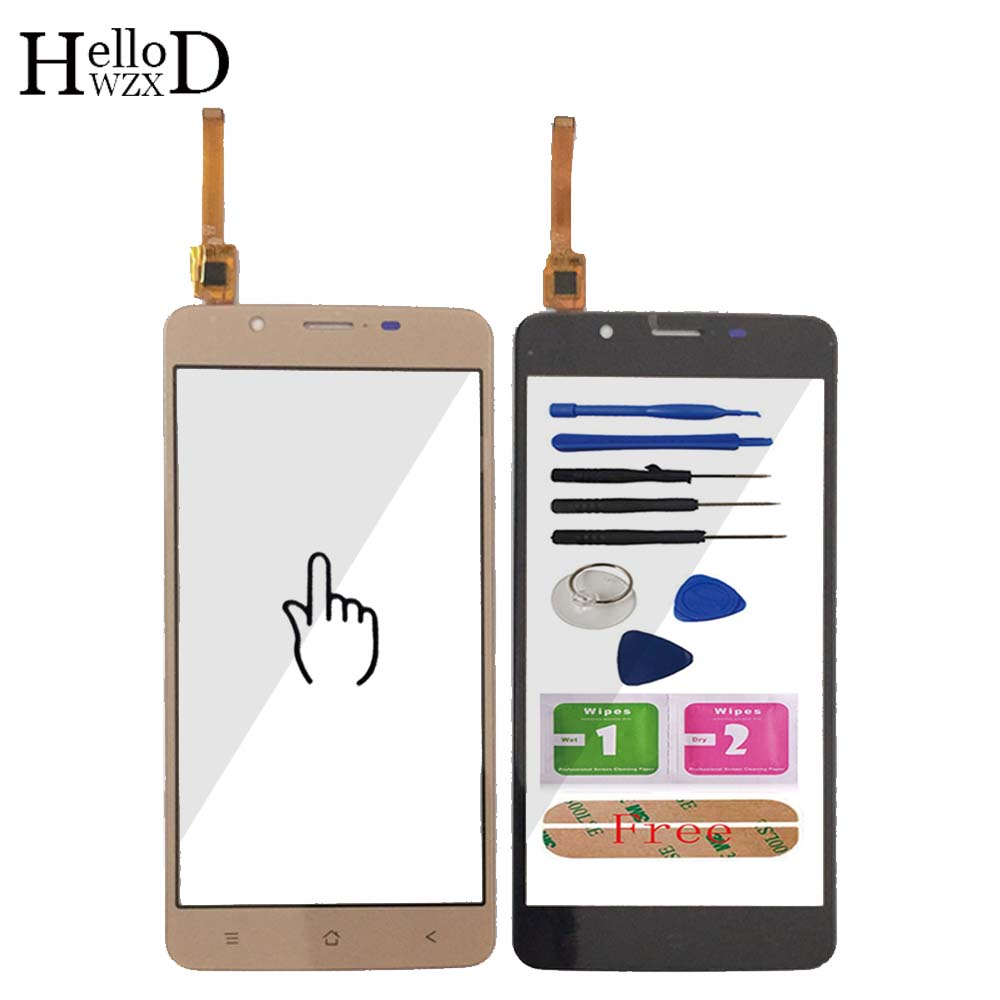 5.5'' Mobile Phone Touch Glass For Blackview P2 P2 Lite Touch Screen Glass Digitizer Panel Lens Sensor Tools Free Adhesive