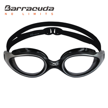 Barracuda Swimming Goggle AQUATEC Curved Lenses Anti-fog UV Protection One-piece Frame Soft Gaskets for Adults Men Women #35125
