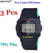 5a82381f2e17 3Pcs Lot For Casio DW5600 DW5610 DW 5600 5610 Sport Watch Soft TPU Full  Cover