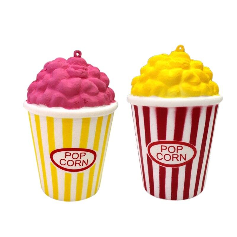 1 Stück Langsam Rising Squishies Jumbo Popcorn Duftenden Squeeze Stress Spielzeug Für Kinder Verhindern, Dass Haare Vergrau Werden Und Helfen, Den Teint Zu Erhalten