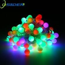 10 м светодиодный фонарь 20 м 200 светодиодный s 5 м 110 В 220 В водонепроницаемый IP65 наружный шар Рождественские огни декорация для праздника, свадьбы, вечеринки